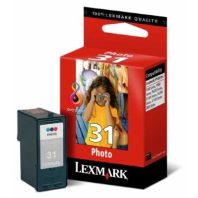 Lexmark Nr.31 (18C0031E) eredeti színes tintapatron, 135 oldal