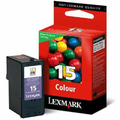 Lexmark Nr.15 (18C2110B) eredeti színes tintapatron, ~150 oldal