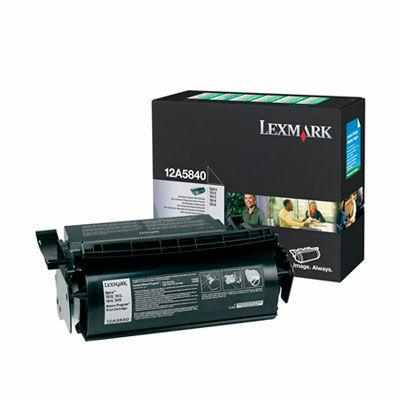 Lexmark T610 fekete eredeti toner 10K (12A584) (≈10000 oldal)