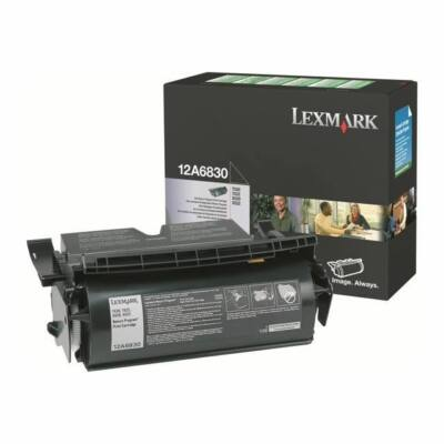 Lexmark T520 fekete eredeti toner 7,5K (12A6830) (≈7500 oldal)