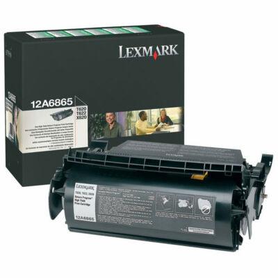 Lexmark T620 fekete eredeti toner 30K (12A6865) (≈30000 oldal)