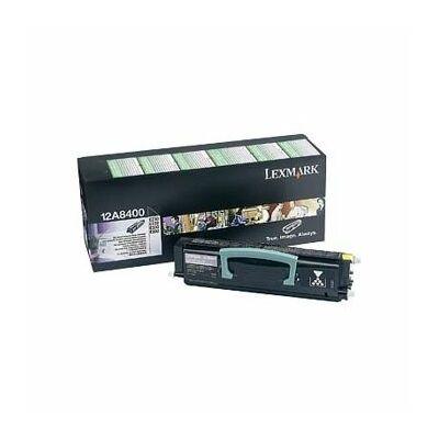 Lexmark E230 fekete eredeti toner 2,5K (12A8400) (≈2500 oldal)