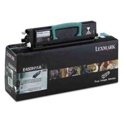 Lexmark E450 fekete eredeti toner 11K (450H11E) (≈11000 oldal)