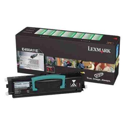 Lexmark E450 fekete eredeti toner 6K (450A11E) (≈6000 oldal)
