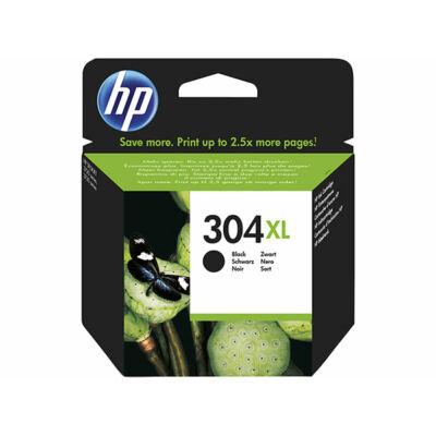 HP Nr.304XL (N9K08AE) eredeti fekete tintapatron, ~300 oldal