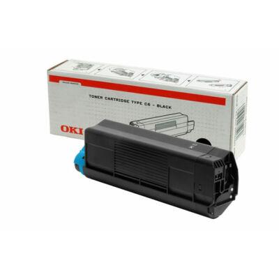 OKI C5100 eredeti fekete toner TypeC6 (42127408) (≈5000 oldal)