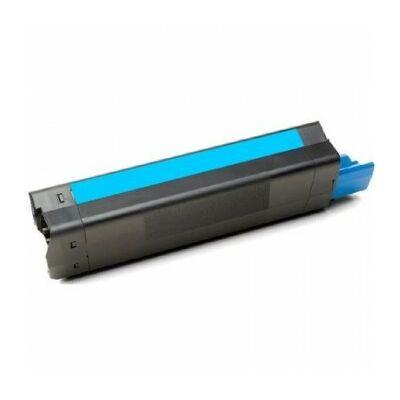 Utángyártott C3100/c3200 C cián toner OKI nyomtatókhoz