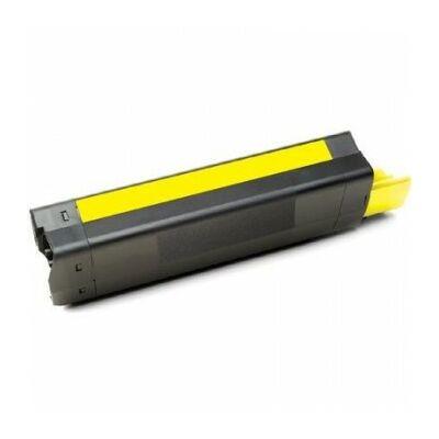 Utángyártott C5100/5200/5300/5400 Y sárga toner OKI nyomtatókhoz