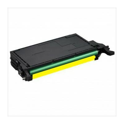 Utángyártott CLP620/CLP670 Y sárga  toner Samsung készülékhez CLT-Y5082L (≈4000 oldal)