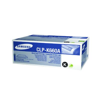 Samsung CLP610 fekete eredeti toner 2,5K (CLP-K660A/ST899A) (≈2500 oldal)