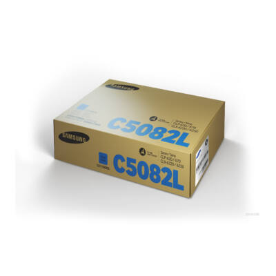 Samsung CLP620 cián eredeti toner 4K (CLT-C5082L/SU055A) (≈4000 oldal)