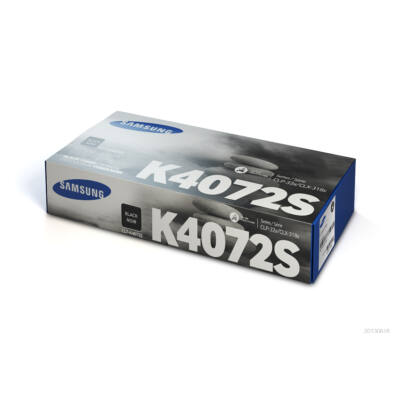 Samsung CLP320 fekete eredeti toner 1,5K (CLT-K4072S/SU128A) (≈1500 oldal)