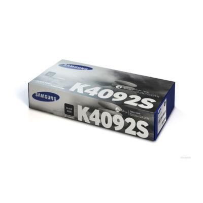 Samsung CLP310 fekete eredeti toner 1,5K (CLT-K4092S/SU138A) (≈1500 oldal, CLP315)