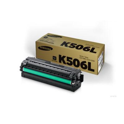 Samsung CLP680 fekete eredeti toner 6K (CLT-K506L/SU171A) (≈6000 oldal)