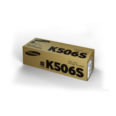 Samsung CLP680 fekete eredeti toner 2K (CLT-K506S/SU180A) (≈2000 oldal)