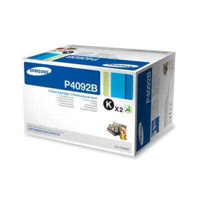 Samsung CLP310 dupla fekete eredeti toner 2x1,5K (CLT-P4092B/SU391A) (≈3000 oldal)