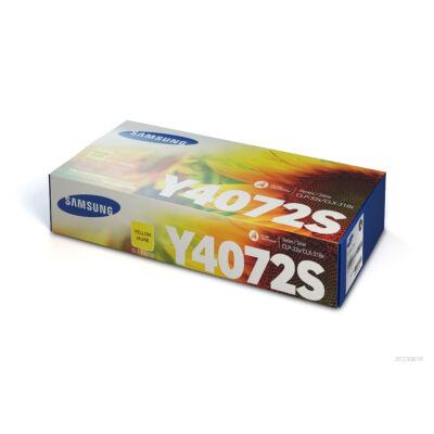Samsung CLP320 sárga eredeti toner 1K (CLT-Y4072S/SU472A) (≈1000 oldal)