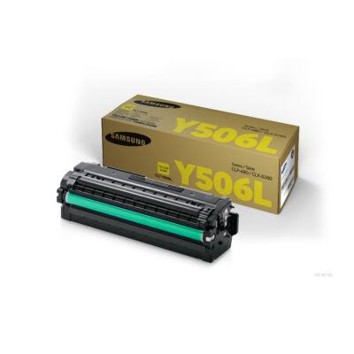 Samsung CLP680 sárga eredeti toner 3,5K (CLT-Y506L/SU515A) (≈3500 oldal)