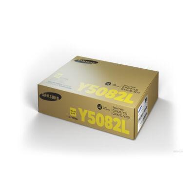 Samsung CLP620 sárga eredeti toner 4K (CLT-Y5082L/SU532A) (≈4000 oldal)