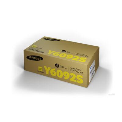 Samsung CLP770 sárga eredeti toner (CLT-Y6092S/SU559A) (≈7000 oldal)