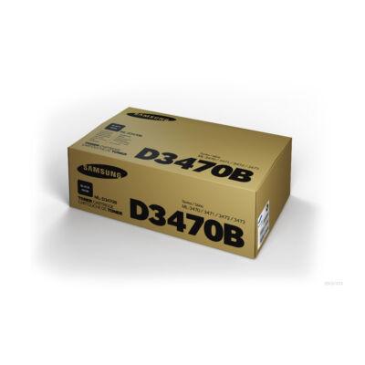Samsung ML3470 fekete eredeti toner 10K (ML-D3470B/SU672A) (≈10000 oldal)