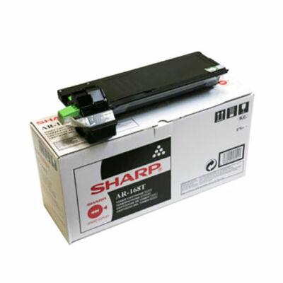 Sharp AR168T fekete eredeti toner 6,5K  (≈6500 oldal)