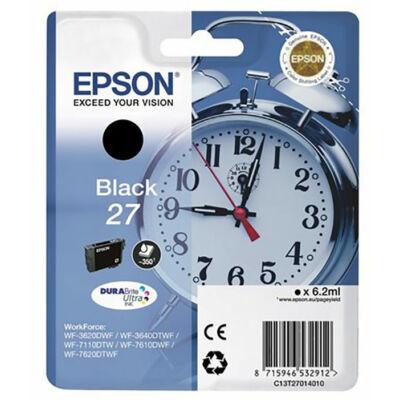 Epson T2701 (Nr. 27) eredeti fekete tintapatron  (≈350oldal)