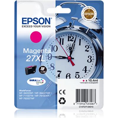 Epson T2713 (Nr. 27XL) magenta eredeti tintapatron (≈1100oldal)