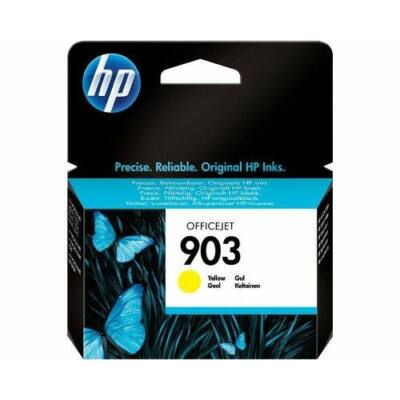 HP Nr.903 (T6L95AE) eredeti sárga tintapatron, ~315 oldal