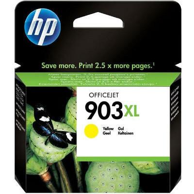 HP Nr.903XL (T6M11AE) eredeti sárga tintapatron, ~825 oldal