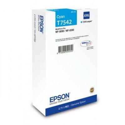 Epson T7542 eredeti cián tintapatron, ~7000 oldal