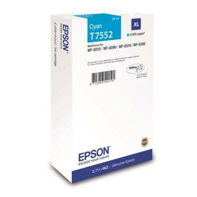 Epson T7552 eredeti cián tintapatron, ~4000 oldal