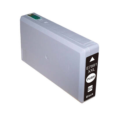 Epson -hoz, T7891 XXL fekete utángyártott tintapatron, ~4000 oldal