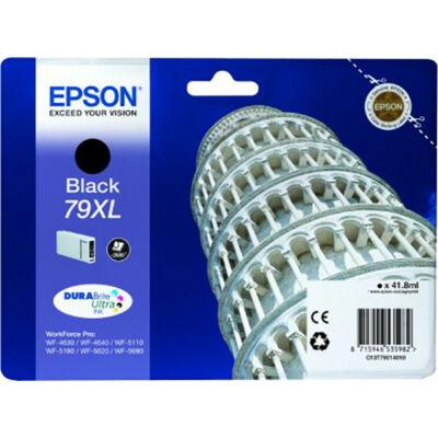 Epson T7901 XL fekete eredeti tintapatron 2.6K (≈2600oldal)