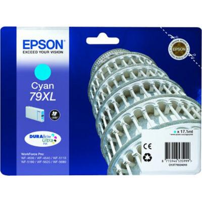 Epson T7902 XL cián eredeti tintapatron 2K (≈2000oldal)