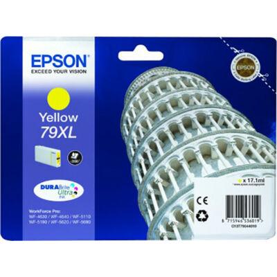 Epson T7904 XL sárga eredeti tintapatron 2K (≈2000oldal)