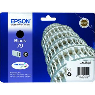Epson T7911  fekete eredeti tintapatron 0.9K (≈900oldal)