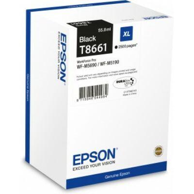 Epson T8661 eredeti fekete tintapatron, ~2500 oldal (C13T866140)
