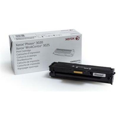 Xerox Phaser 3020 eredeti fekete toner 1,5K (106R02773)  (≈1500 oldal)