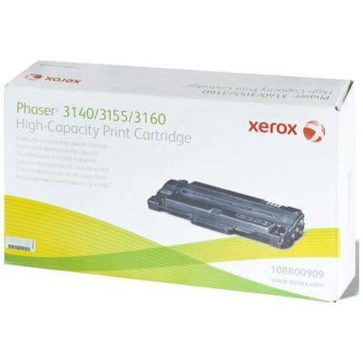 Xerox Phaser 3140/3160 fekete eredeti toner 2,5K (108R00909) (≈2500 oldal)