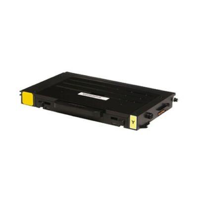 Utángyártott 6100 sárga toner Xerox Phaser 6100-as készülékhez (≈5000 oldal)